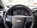 Jet Black Steering Wheel Photo for 2017 Chevrolet Silverado 1500 #116484781