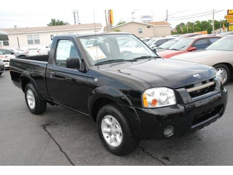 2001 nissan frontier xe regular cab data info and specs. Black Bedroom Furniture Sets. Home Design Ideas