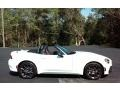 2017 124 Spider Abarth Roadster Bianco Gelato White