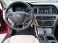 Beige Dashboard Photo for 2017 Hyundai Sonata #116496978