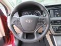Beige Steering Wheel Photo for 2017 Hyundai Sonata #116497155