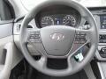 Gray Steering Wheel Photo for 2017 Hyundai Sonata #116498082