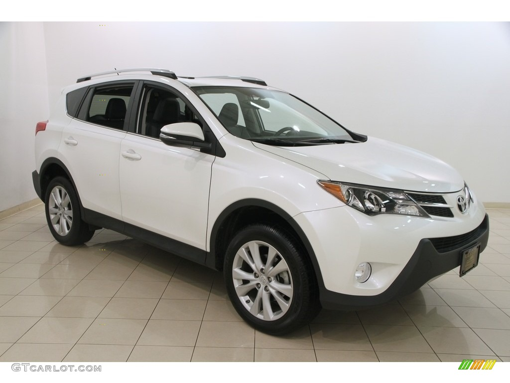 2014 blizzard white pearl toyota rav4 limited awd 116487059 photo 3 car color. Black Bedroom Furniture Sets. Home Design Ideas