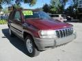 Dark Garnet Red Pearlcoat 2002 Jeep Grand Cherokee Laredo 4x4