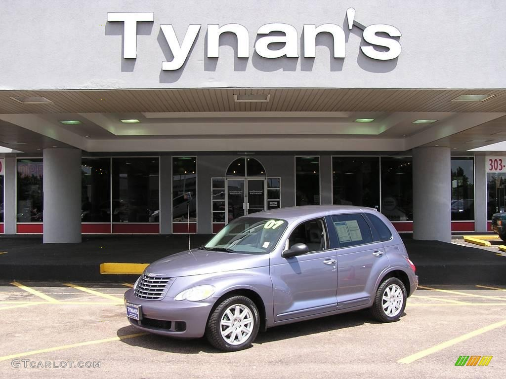 2007 PT Cruiser Touring - Opal Gray Metallic / Pastel Slate Gray photo #1
