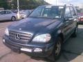 Black Opal Metallic 2003 Mercedes-Benz ML 320 4Matic