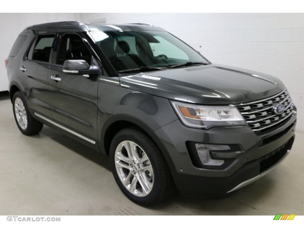 Magnetic 2017 Ford Explorer Limited 4WD Exterior Photo #116509716