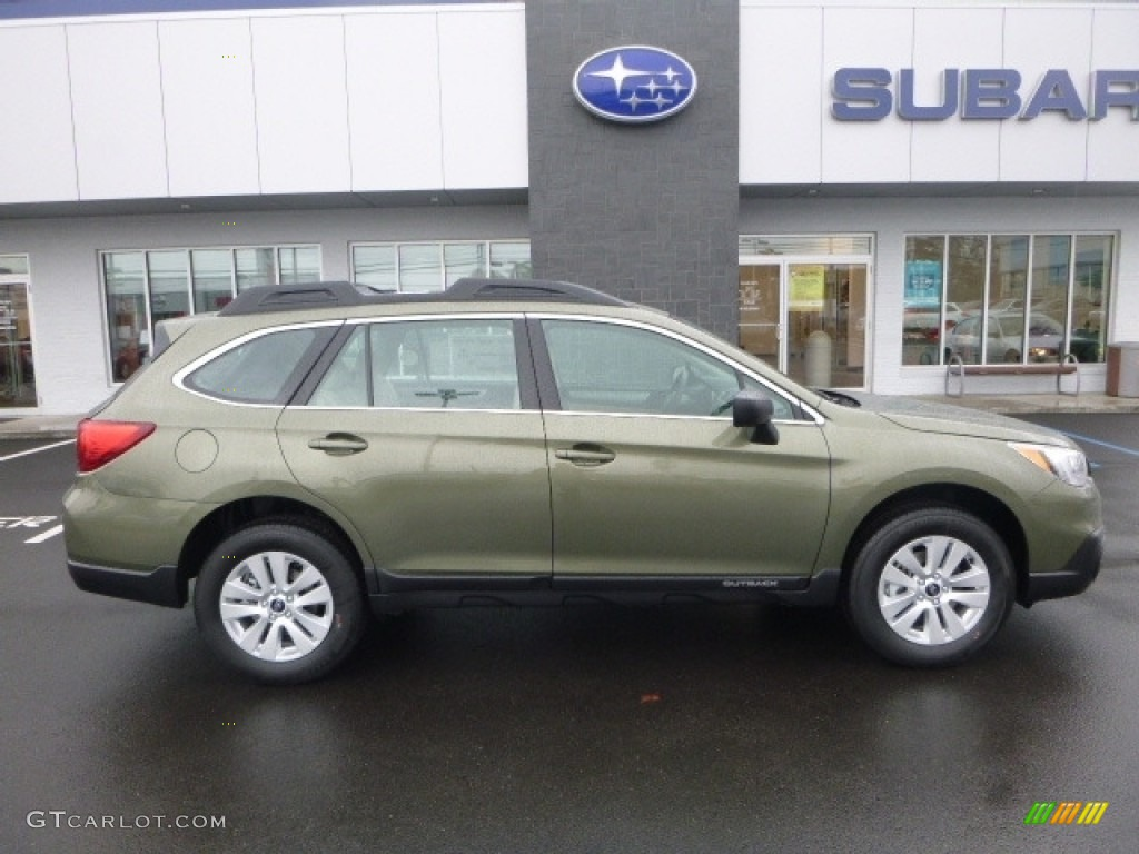 2017 wilderness green metallic subaru outback. Black Bedroom Furniture Sets. Home Design Ideas