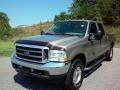 2002 Arizona Beige Metallic Ford F250 Super Duty XL Crew Cab 4x4  photo #2