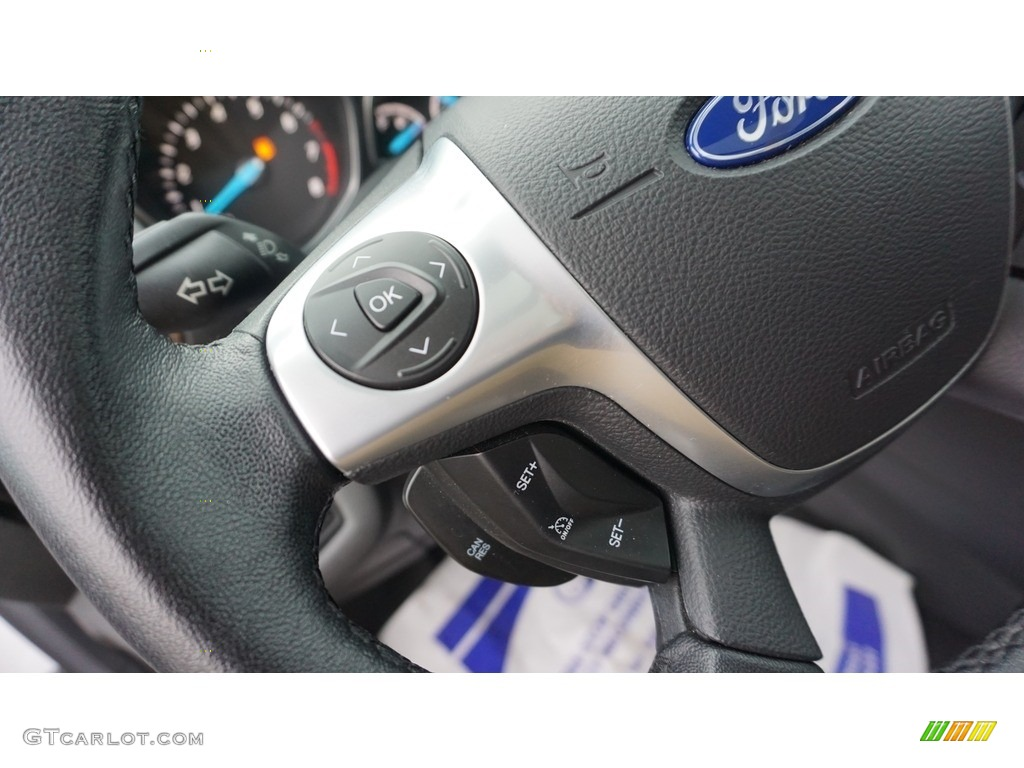 2014 Escape Titanium 2.0L EcoBoost 4WD - White Platinum / Charcoal Black photo #18