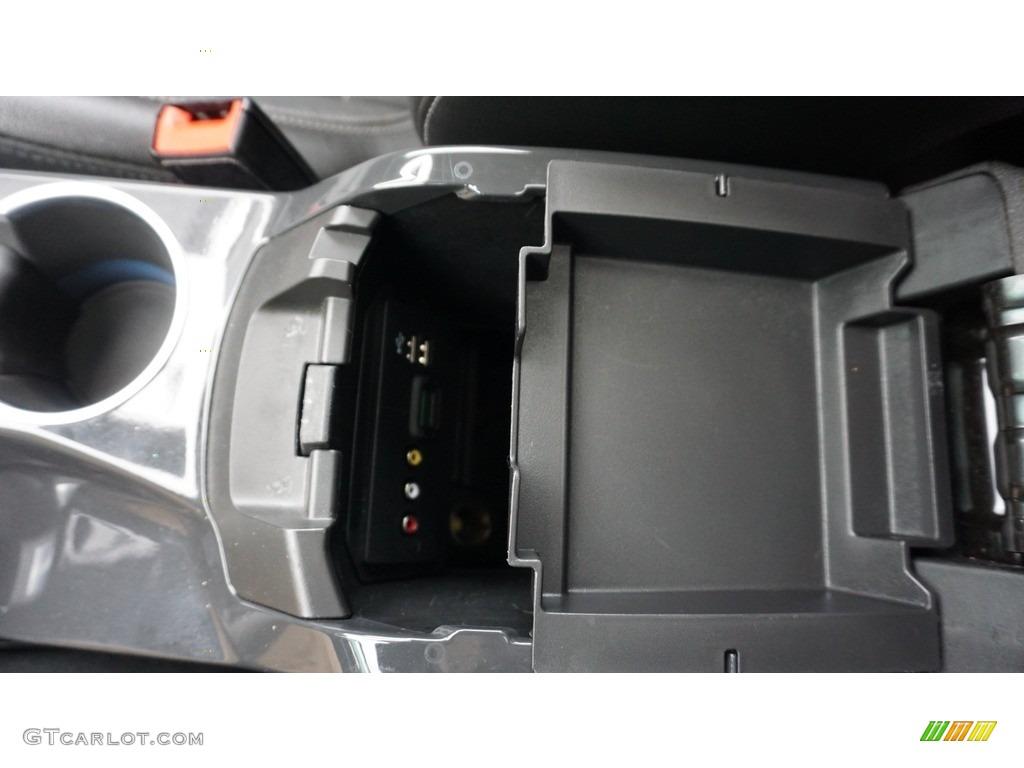 2014 Escape Titanium 2.0L EcoBoost 4WD - White Platinum / Charcoal Black photo #26