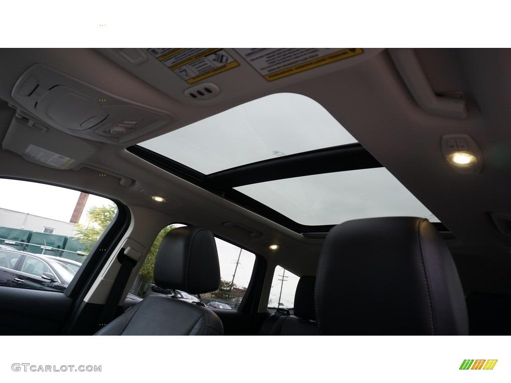 2014 Escape Titanium 2.0L EcoBoost 4WD - White Platinum / Charcoal Black photo #29