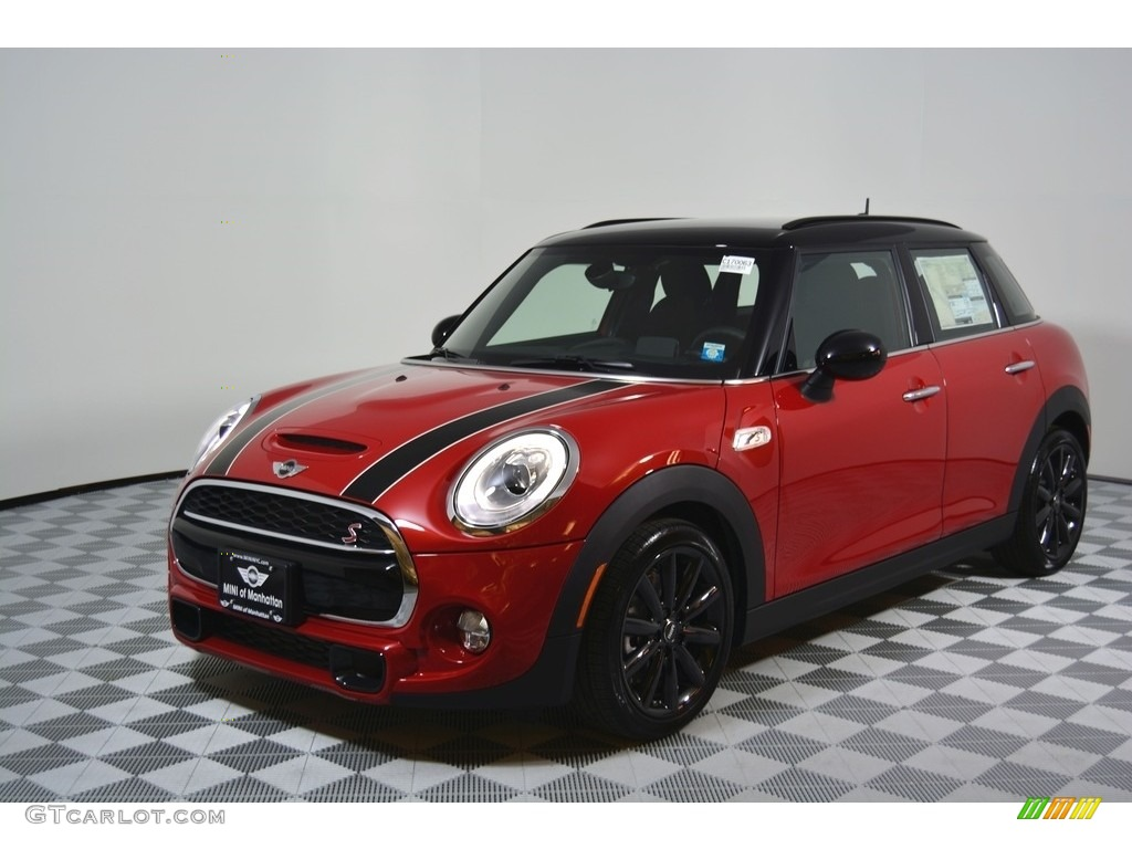2017 blazing red metallic mini hardtop cooper s 4 door 116538883 car color. Black Bedroom Furniture Sets. Home Design Ideas