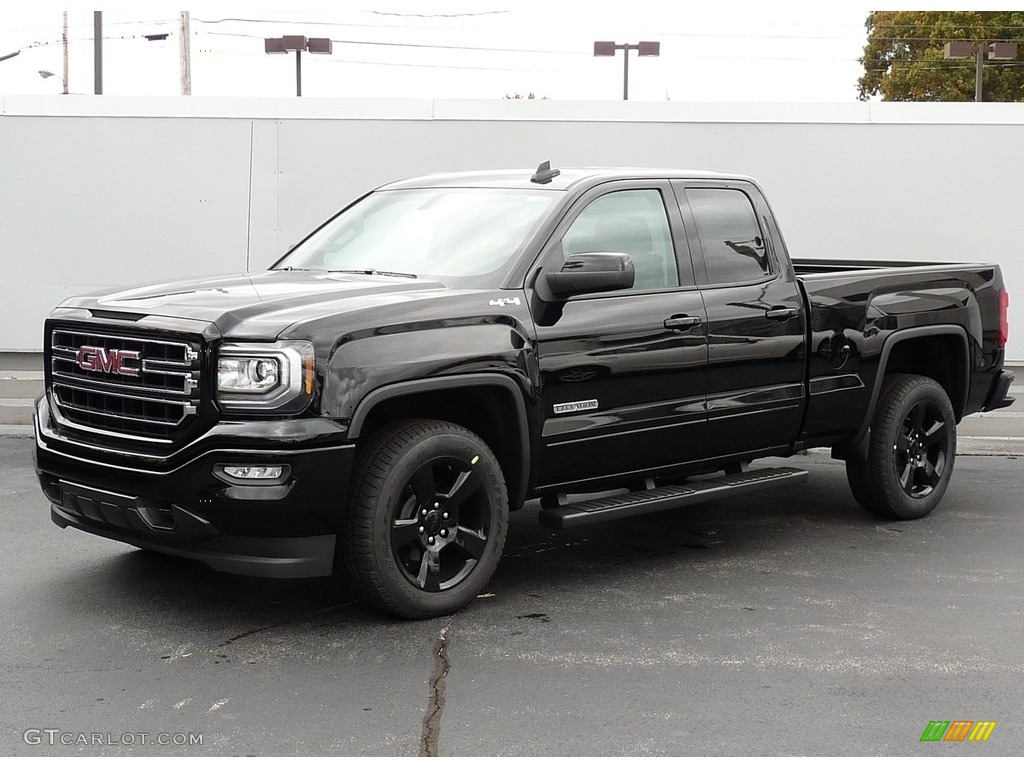 2017 Onyx Black Gmc Sierra 1500 Elevation Edition Double Cab 4wd 116554458