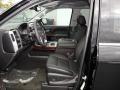 Jet Black 2017 GMC Sierra 1500 Interiors