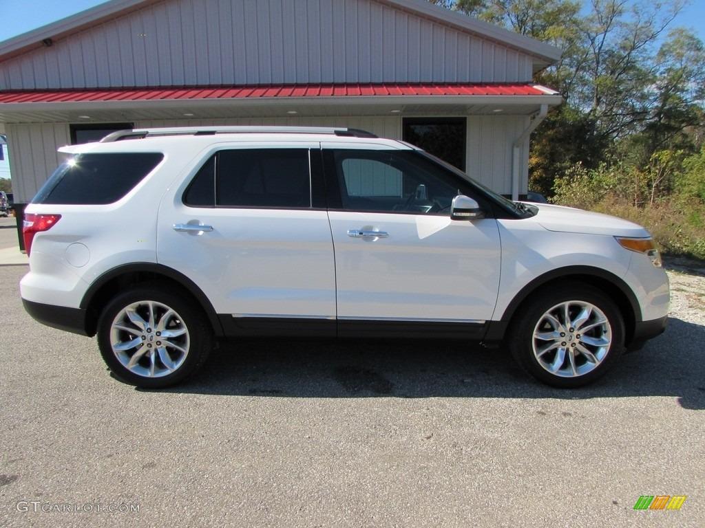 2014 white platinum ford explorer limited 4wd 116554547 photo 2 car color. Black Bedroom Furniture Sets. Home Design Ideas