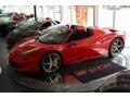 Rosso Corsa (Red) 2015 Ferrari 458 Spider