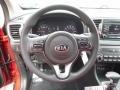 Black Steering Wheel Photo for 2017 Kia Sportage #116588320