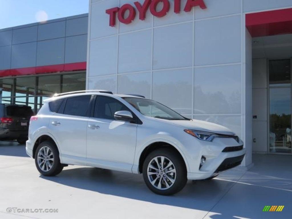 2017 Blizzard Pearl White Toyota Rav4 Platinum 116579377