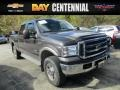 2005 Dark Shadow Grey Metallic Ford F250 Super Duty Lariat Crew Cab 4x4 #116579312