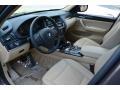 Sand Beige Interior Photo for 2014 BMW X3 #116609032
