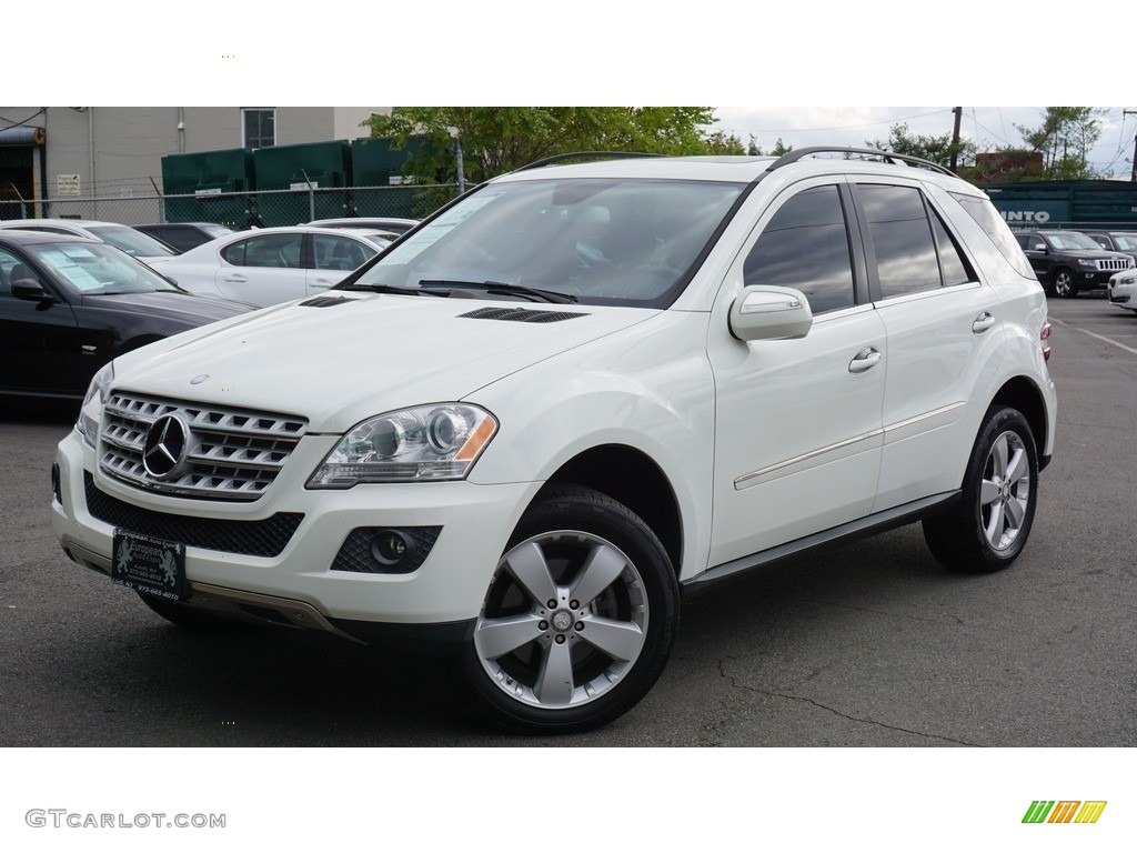 2010 arctic white mercedes benz ml 350 4matic 116579469 for Mercedes benz 350 ml