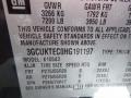 Graphite Metallic - Silverado 1500 High Country Crew Cab 4x4 Photo No. 14