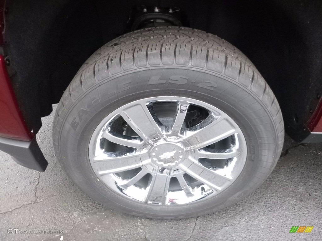 2017 Chevrolet Silverado 1500 High Country Crew Cab 4x4 Wheel Photo #116617067