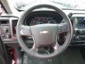 Jet Black Steering Wheel Photo for 2017 Chevrolet Silverado 1500 #116632637