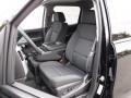 Jet Black Front Seat Photo for 2017 Chevrolet Silverado 1500 #116645939
