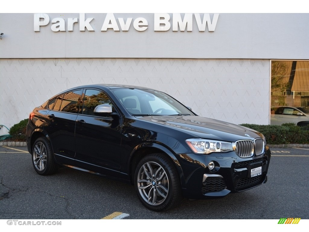 Carbon Black Metallic BMW X4 M40i