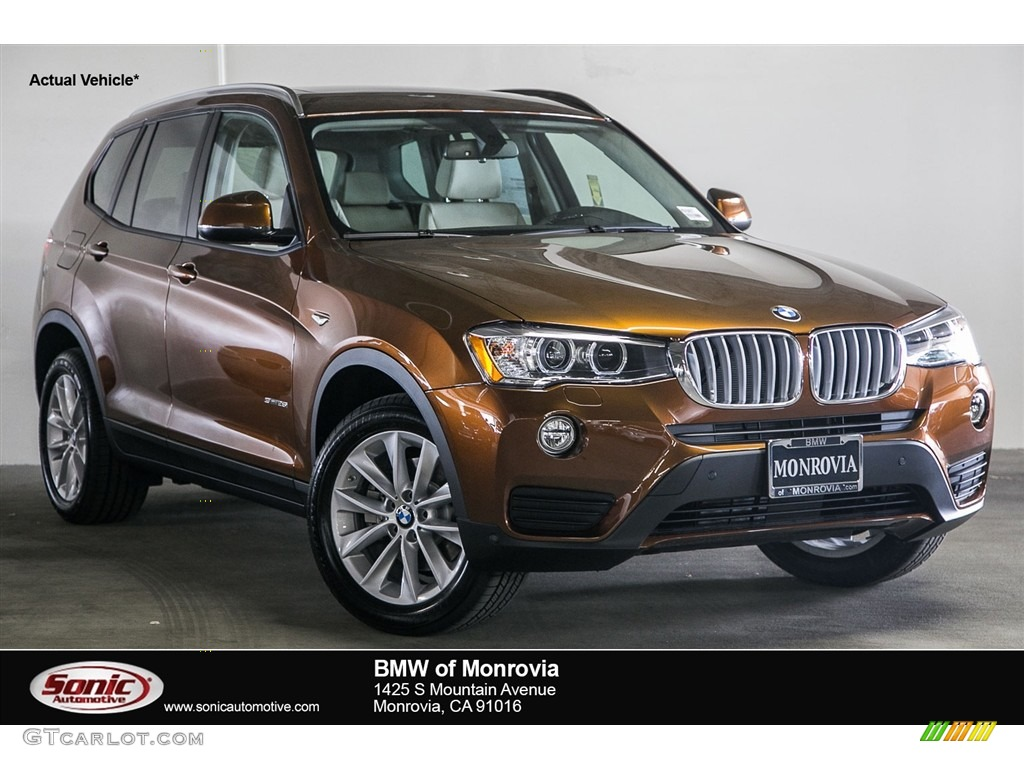 2017 chestnut bronze metallic bmw x3 sdrive28i 116665610 car color galleries. Black Bedroom Furniture Sets. Home Design Ideas