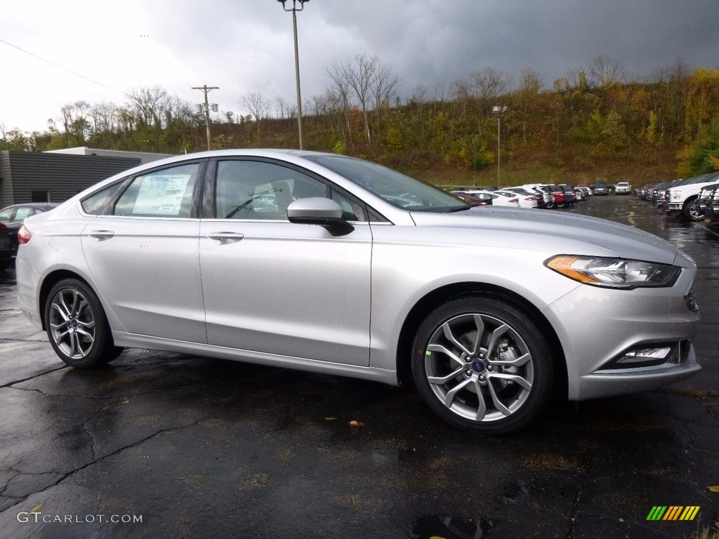 Ford Fusion Colors >> 2017 Ingot Silver Ford Fusion SE #116665468 Photo #7 | GTCarLot.com - Car Color Galleries
