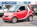 Rally Red 2009 Smart fortwo passion cabriolet
