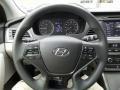 Gray Steering Wheel Photo for 2017 Hyundai Sonata #116684631