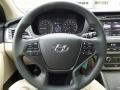 Beige Steering Wheel Photo for 2017 Hyundai Sonata #116686812