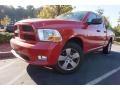 2012 Flame Red Dodge Ram 1500 Express Quad Cab #116706427
