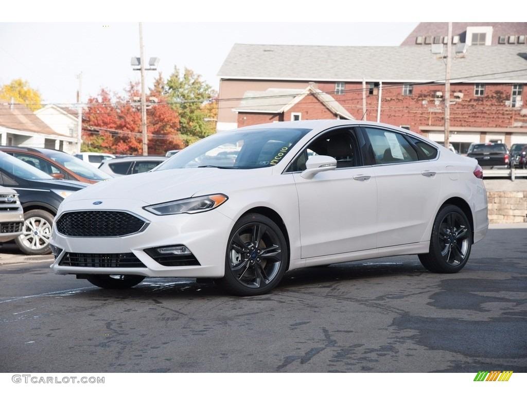 2017 White Platinum Ford Fusion Sport Awd 116706433