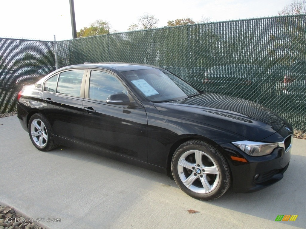 2014 jet black bmw 3 series 320i xdrive sedan 116734727 photo 4 car color. Black Bedroom Furniture Sets. Home Design Ideas