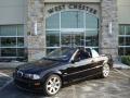 Jet Black 2003 BMW 3 Series 325i Convertible