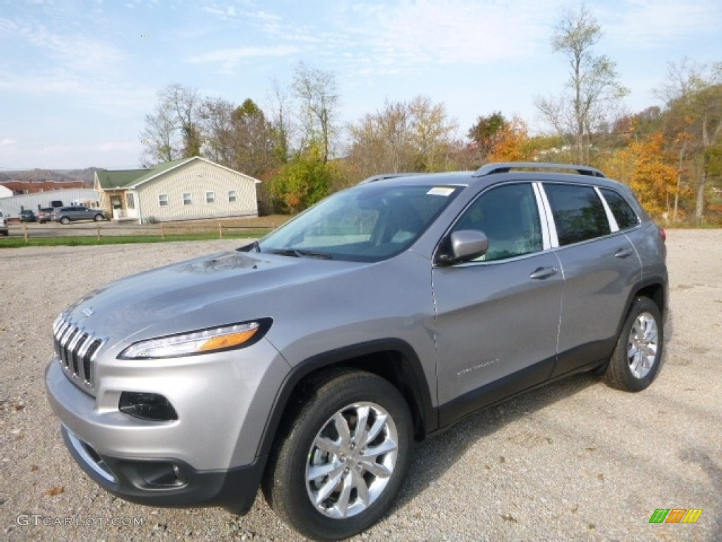 2017 Billet Silver Metallic Jeep Cherokee Limited 4x4 ...
