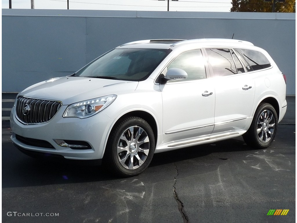 2017 white frost tricoat buick enclave premium awd 116757557 photo 4 car. Black Bedroom Furniture Sets. Home Design Ideas