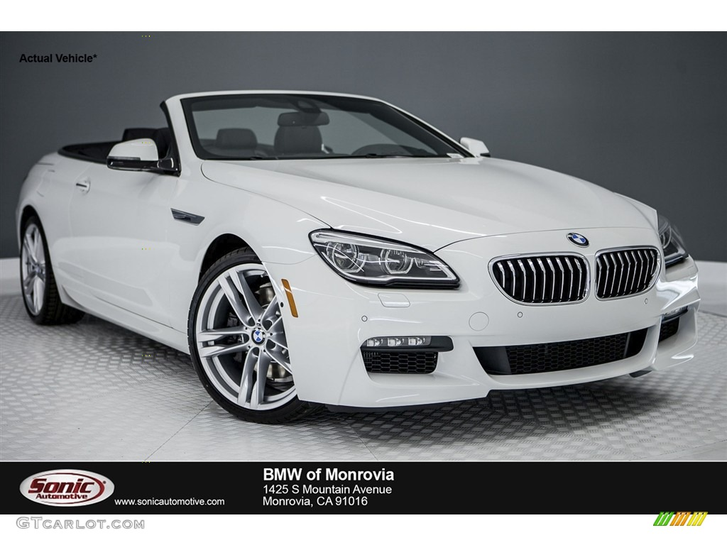 2017 alpine white bmw 6 series 640i convertible 116757504 car color galleries. Black Bedroom Furniture Sets. Home Design Ideas