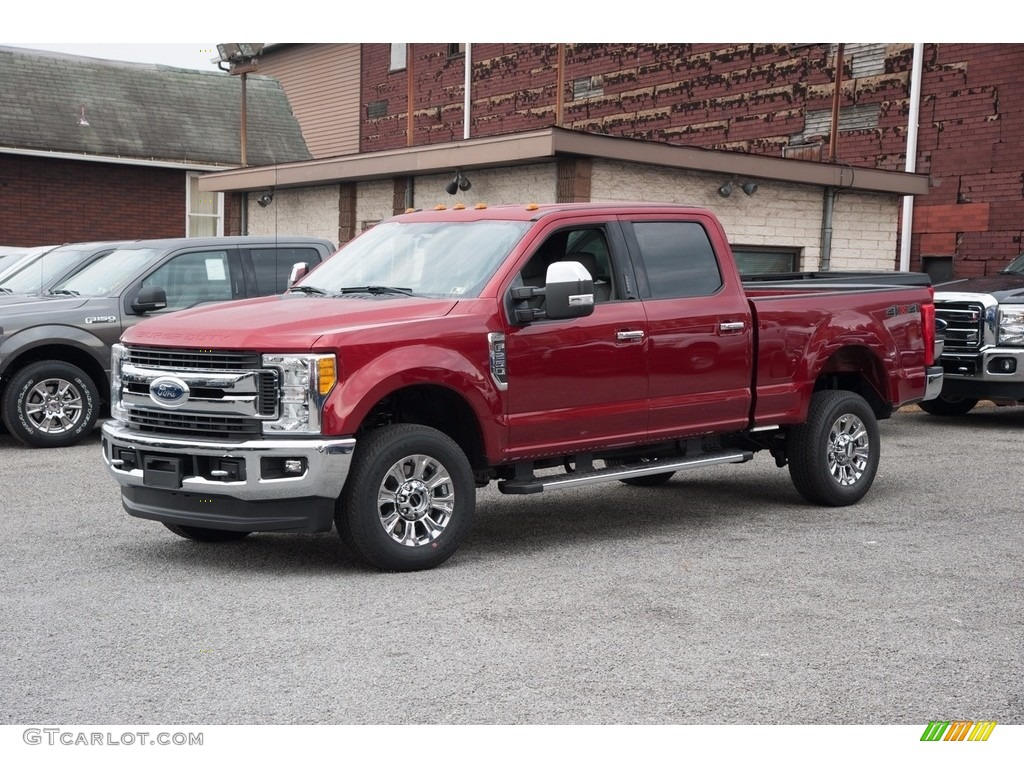 2017 ruby red ford f250 super duty xlt crew cab 4x4 116757431 photo 8 car. Black Bedroom Furniture Sets. Home Design Ideas