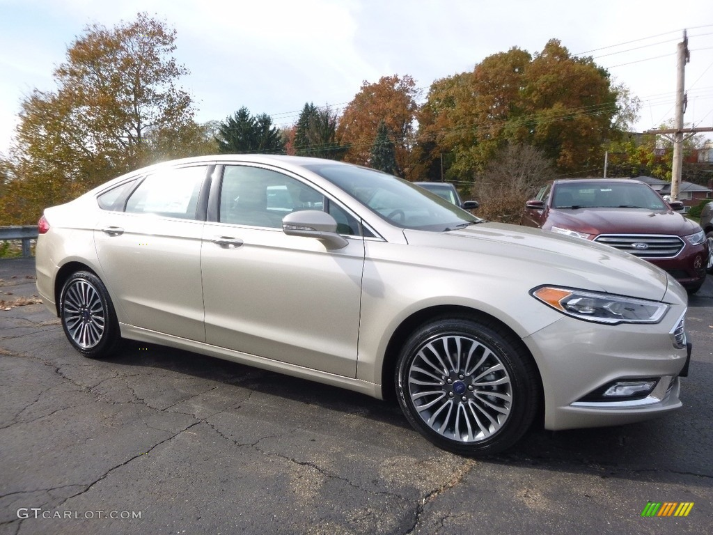 2017 Ford Fusion White Gold Color >> 2017 White Gold Ford Fusion SE AWD #116757363 | GTCarLot.com - Car Color Galleries