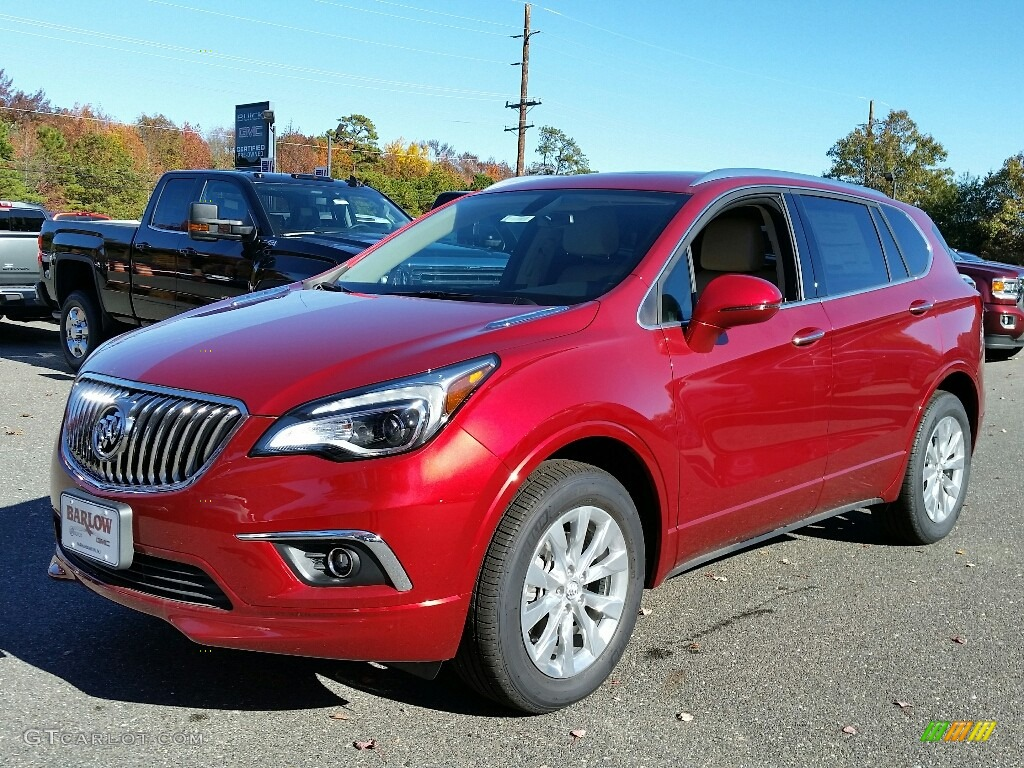 2017 chili red metallic buick envision essence awd 116757223 car color galleries. Black Bedroom Furniture Sets. Home Design Ideas