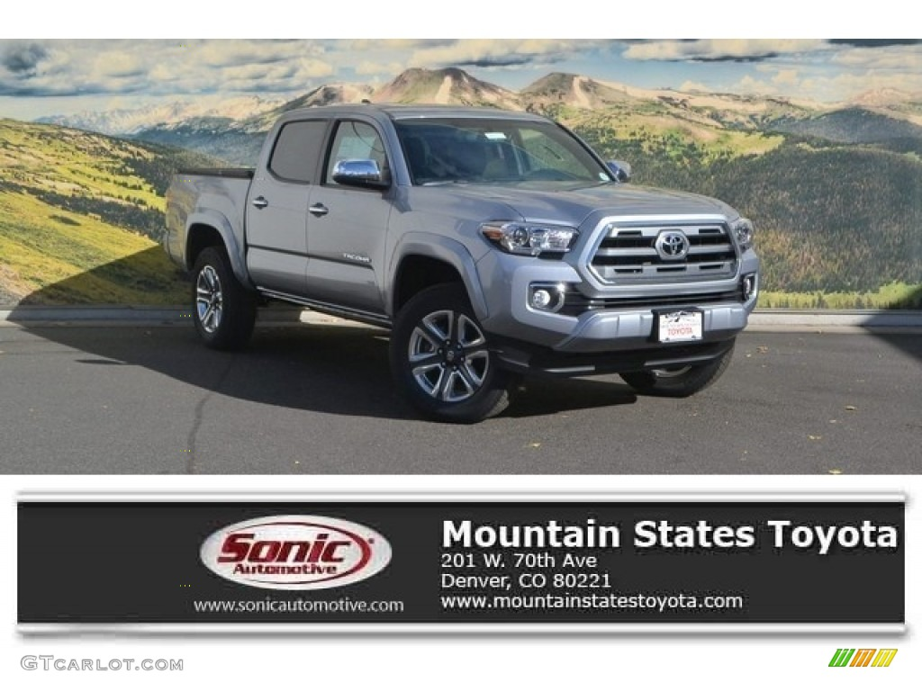 2017 Silver Sky Metallic Toyota Tacoma Limited Double Cab 4x4 116757263 Car