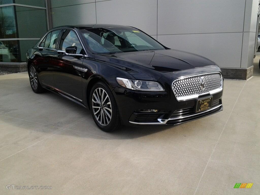 Black Velvet Lincoln Continental