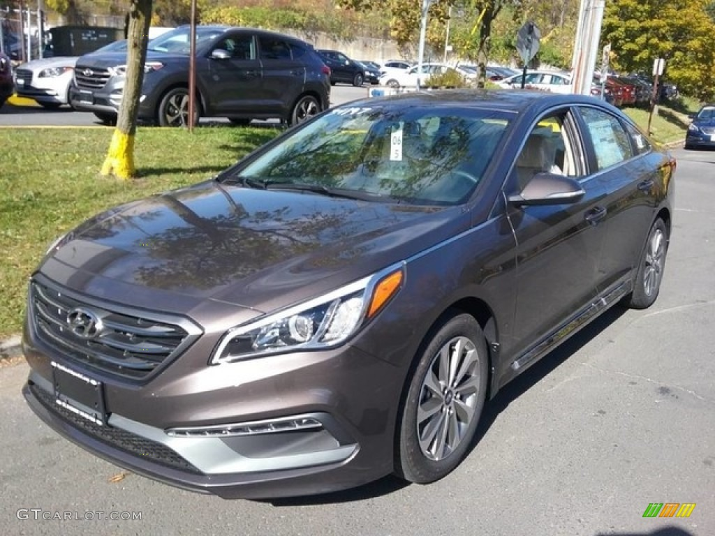2017 Dark Truffle Hyundai Sonata Sport 116783742 Photo 2