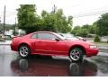 2001 Laser Red Metallic Ford Mustang GT Coupe  photo #2